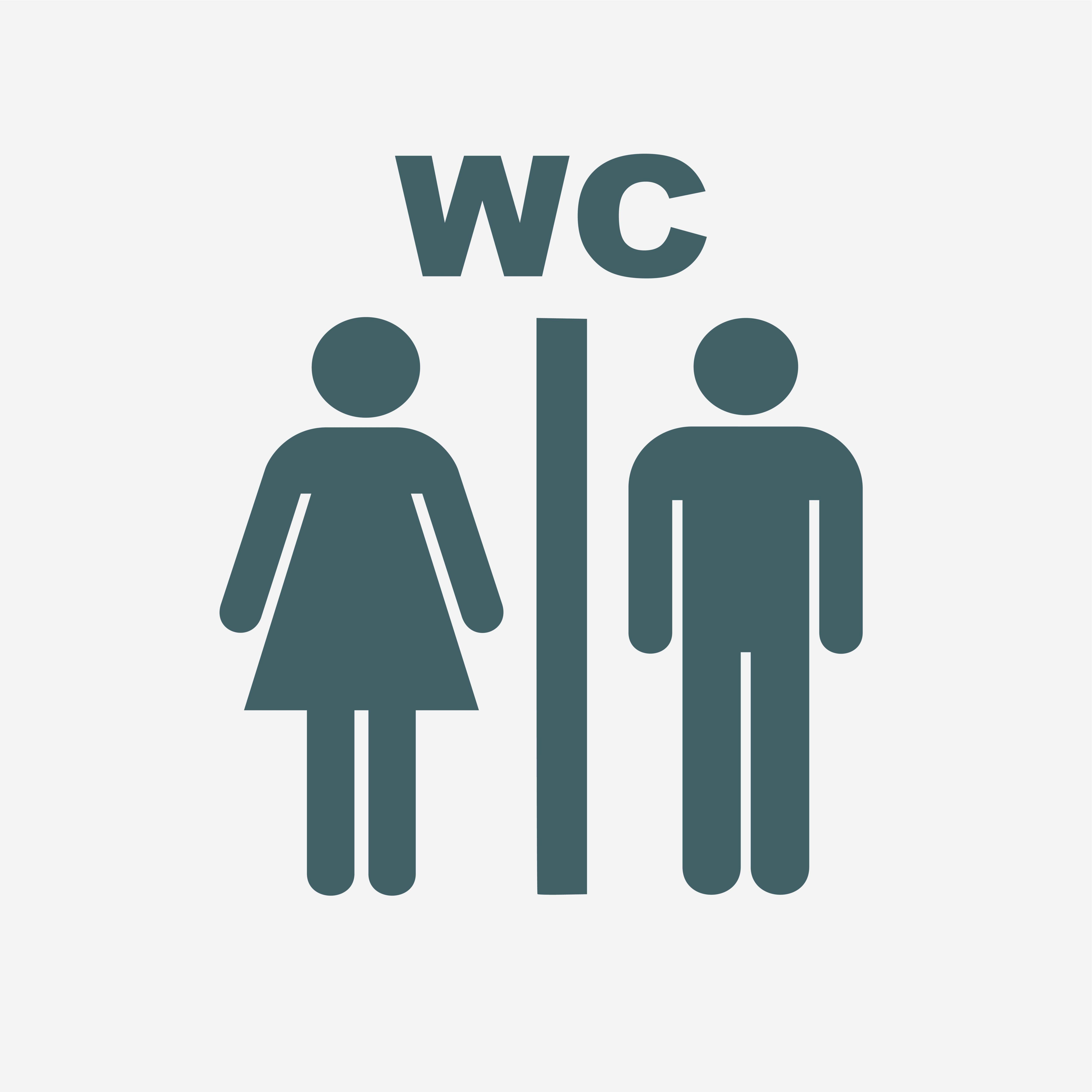 De weg vergeten naar de wc
